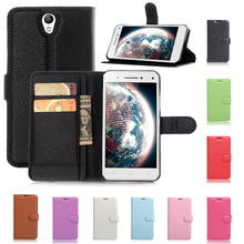 Lenovo Vibe S1 case Business luxury Wallet design Litchi stand Flip Leather Cases for Lenovo Vibe S1 phone case