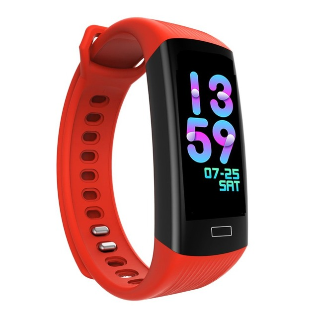 Dynamic Ui Dc68 Smart Band Waterproof Fashionable Men Women Step Counting Heart Rate Monitor Bracelet