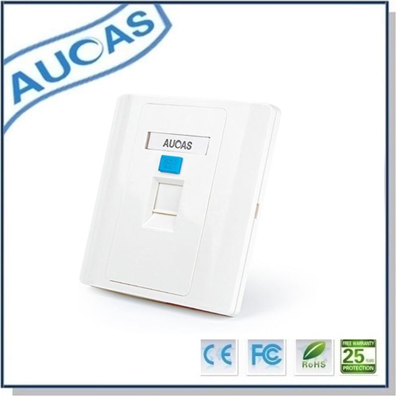 Aucas 4 հատ 1 Պորտ Դեմքի ափսեի - Համակարգչային մալուխներ և միակցիչներ - Լուսանկար 4