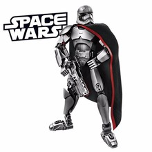 Bevle XSZ 605-4 Star Wars Series Captain Phasma Chief Executive Soldiers Building Block Toys Compatible Legoe 75118 Toys