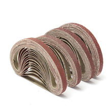 10 шт. абразивная ткань прочный полировщик шлифовальная лента для шлифовальной машины аксессуары Прямая поставка