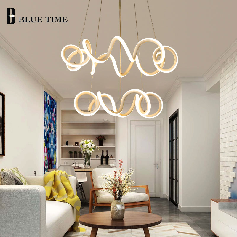 White Creative Led Pendant Light For Living room Dining room Coffee room Luminaire Modern LED Pendant Lamp Hang lamp AC110 220V часы just cavalli just cavalli ju662dwzlk50