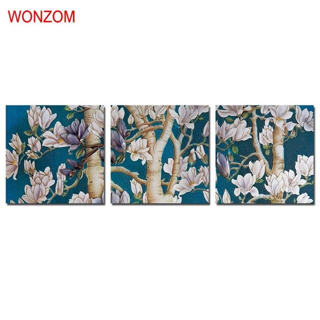 US $20.97 41% di SCONTO|Pesca Tela Dipinti Moderni fiori di Pesco  Incorniciato Quadri Su Tela Per La Decorazione Domestica di Alta Qualità  Della ...