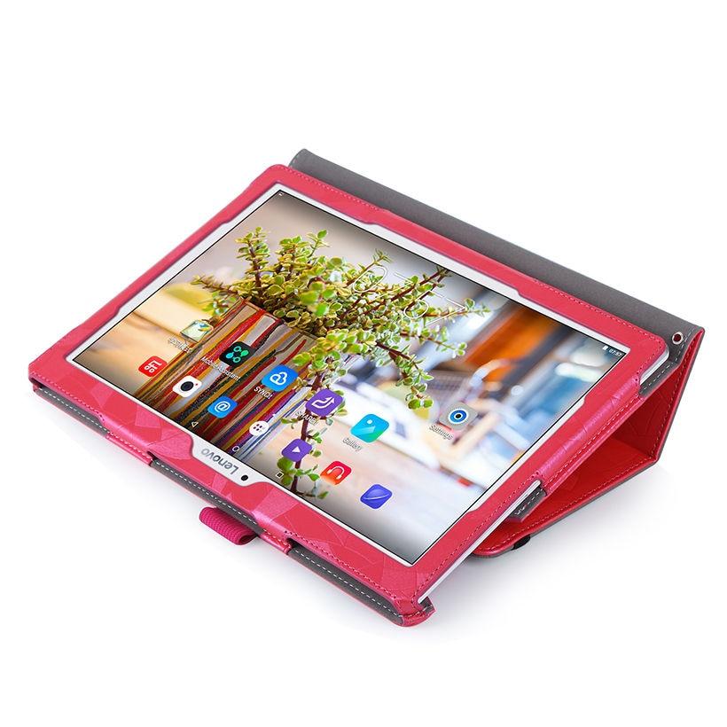 Funda con tapa de cuero de alta calidad para Lenovo Tab 2 A10-30F - Accesorios para tablets - foto 5