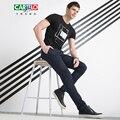 Cartelo бренд 2017 новые мужские деловые Брюки Мода Толстые Брюки Мужские Классические брюки Брюки мужчины FB05075G06