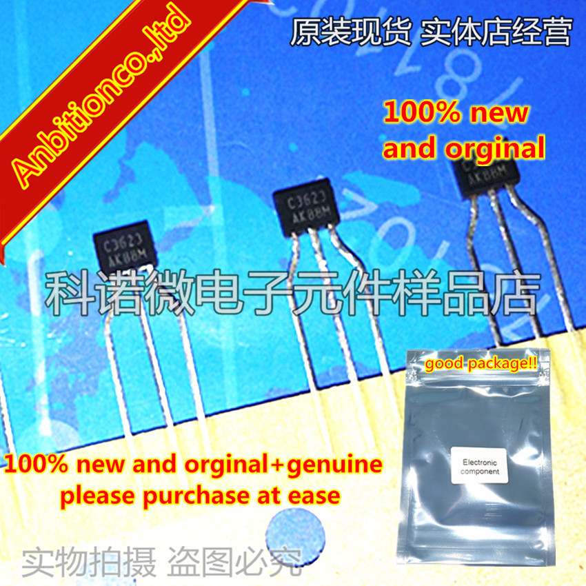10pcs 100% New And Orginal 2SC3623 C3623 TO-92 In Stock