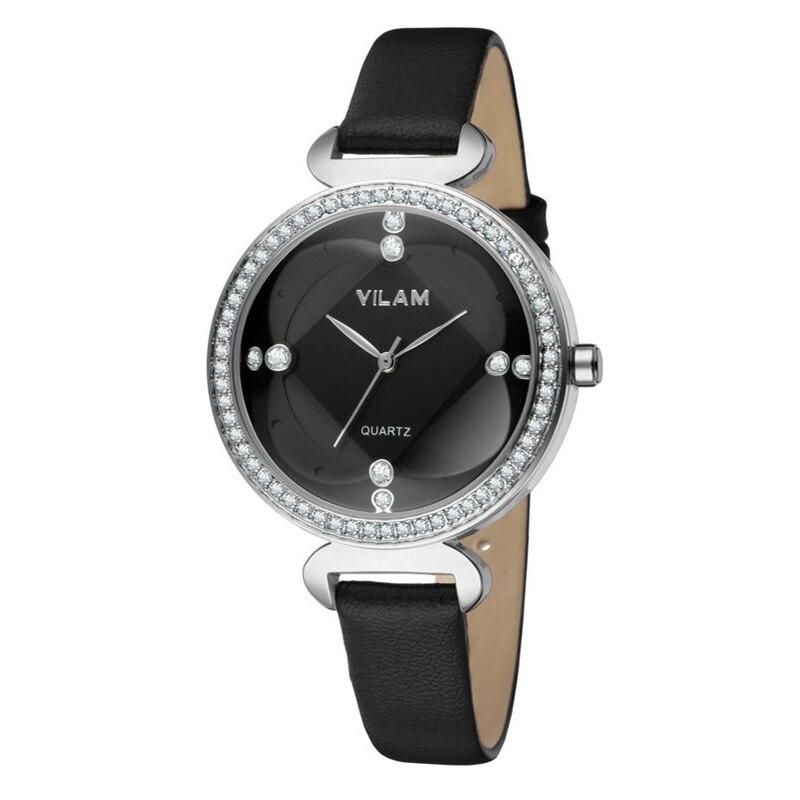 Luxury Brand Diamond Fashion Rhinestone Watch Women Clock Female Quartz Leather Ladies bracelet Wrist watch relojes mujer 9888 цена 2016
