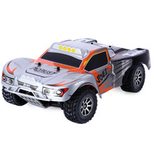Original RC Car Wltoys A969 1/18 Scale Long Distance Control Toys 2.4G 4WD 50km/h RC Drift Short Course  4-wheel Shock Absorbe