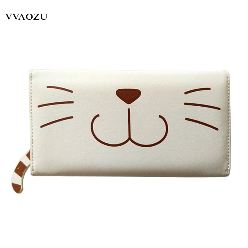 Anime Neko Atsume Cat Claw Purse Women Long Wallet Multifunctional Coin Purses Card Holders ID Holder Carteira Feminina Clutch anime cartoon wallets bifold game pokemon go pikachu wallet for teenager women men pocket monster purse coin purses holders