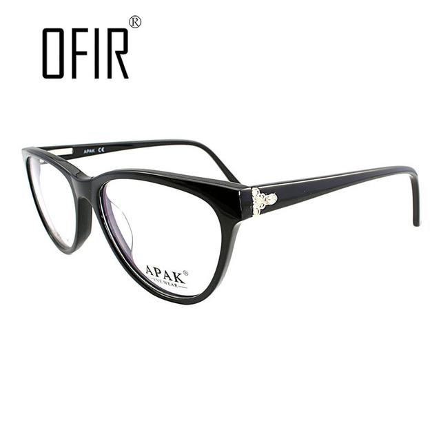 OFIR Decorativo Gafas Monturas de gafas Ópticas de Lente Transparente Mens Marcos de Anteojos de Marca gafas de grau feminino 2015 A5018