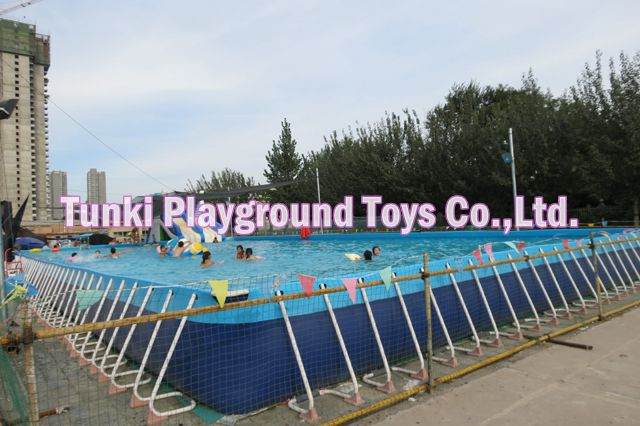 High Quality Small Size Metal Frame Pool Mini Stent Swimming For In Water Play Equipment From Sports Entertainment On Aliexpress Alibaba