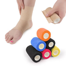 Elastic self-adhesive foot care movement fixed elastic bandage finger hallux valgus ankle men and women wrist wrist knee elbow цена