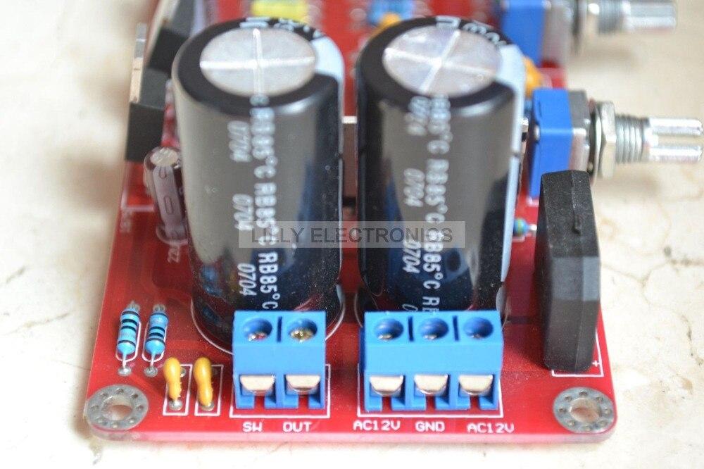 + 40 W Áudio Subwoofer Amplificador Montado Board