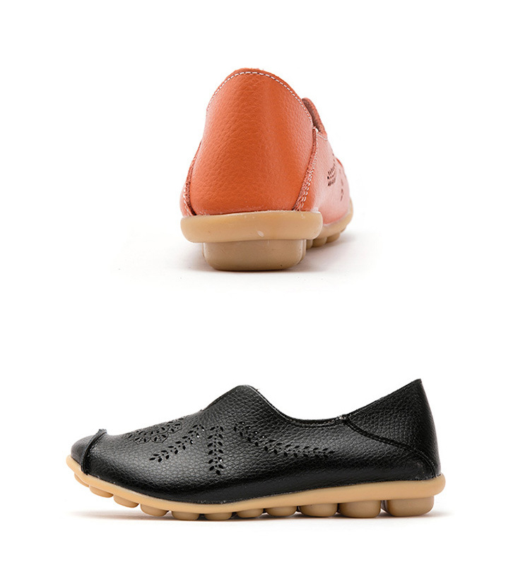 AH 1866-1-2019 Summer Women Loafers Genuine Leather Woman Shoes-18