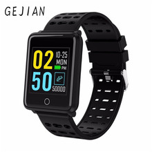 "GEJIAN F3 Smart Watch 1.44 ""Color Heart Rate Blood Pressure Monitoring GPS Track Movement IP68 Waterproof Health smartwatch(China)"