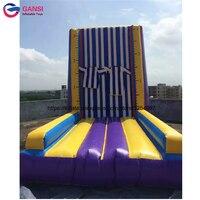5*4*4 м прыжки игры надувные палки стены для парк развлечений водонепроницаемый коммерческих надувные скалодром для аренды