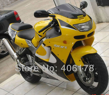 ZX-9R 94-97 fairing kit ABS motorbike set For ZX9R 1994-1997 ZX 9R Yellow White Black Motorcycle Fairings
