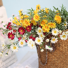Klonca New Fresh Silk Flower 74cm 1pc Artificial Fake Daisy for Home Party Decoration Gift