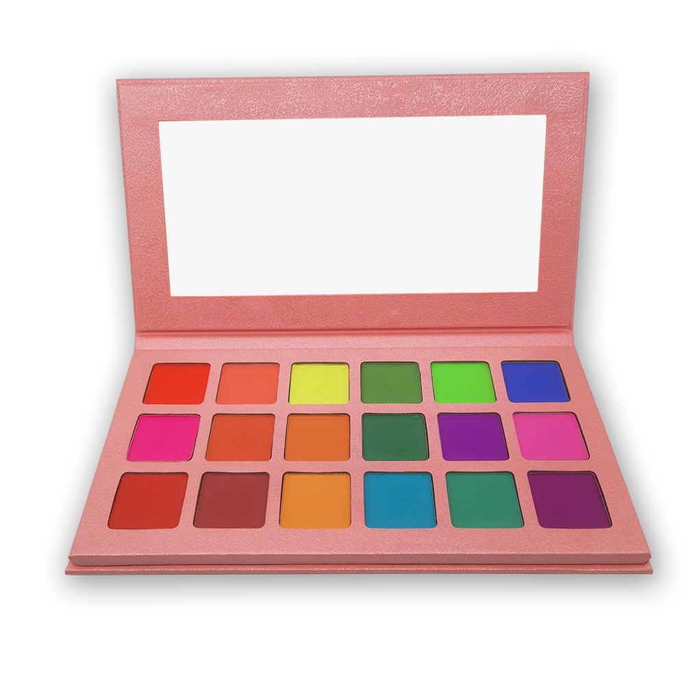 Image 5 - 18Colors Eyeshadow Palette Matte Maquiagem Profissional Completa Bright Shimmer Makeup Pallete Long Lasting Eye Shadow Palette-in Eye Shadow from Beauty & Health