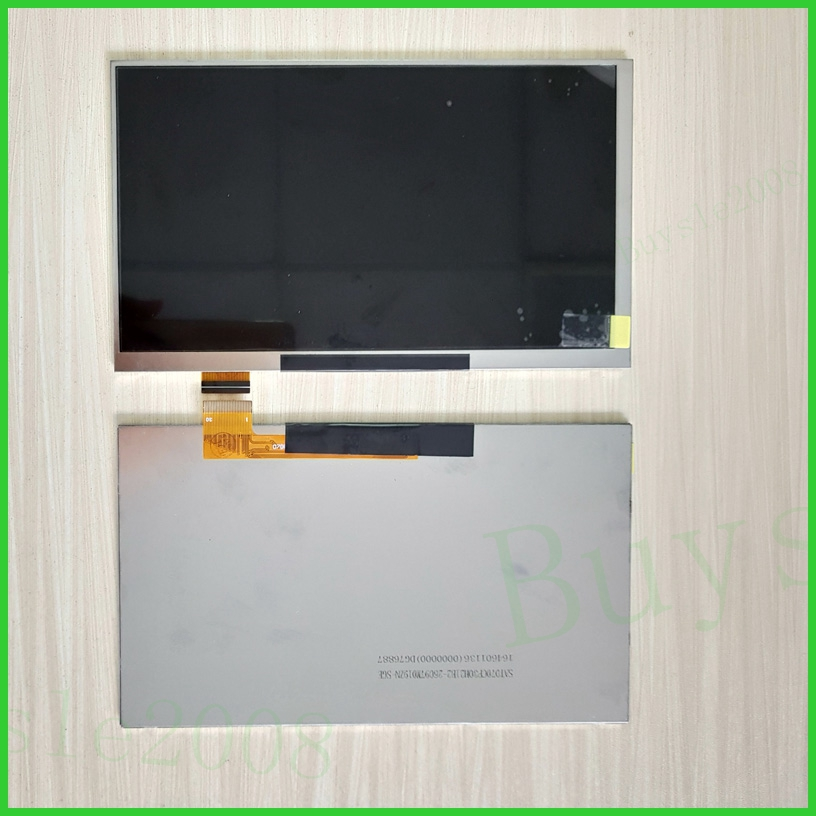 For LCD Display Matrix 7 inch TABLET AL0203B 01 30p TFT LCD Screen Panel Lens Frame replacement Free Shipping new 7 inch lcd display matrix tablet al0203b 01 fy07021dh26a29 1 fpc1 a lcd screen panel lens frame replacement free shipping