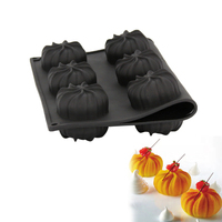 Silicone 3D Twister Cake Baking Mold For Pudding Mousse Dessert Decoration Tools