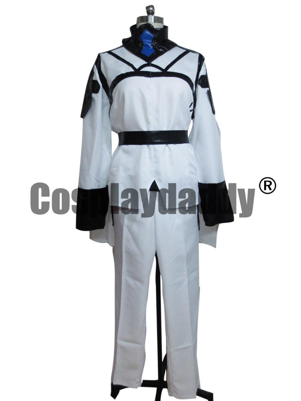 Seraphe de la fin de la bataille à Nagoya Vampire règne Lacus Welt armée uniforme Cosplay Costume