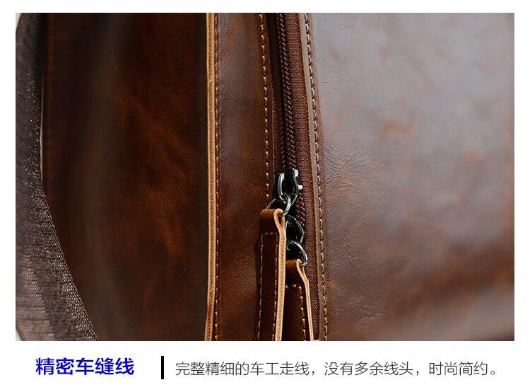 HTB1VERVoMoQMeJjy0Fnq6z8gFXac Brand Men's Briefcase Handbag Crazy Horse Pu Leather Messenger Travel Bag Business Men Tote Bags Man Casual Crossbody Briefcases