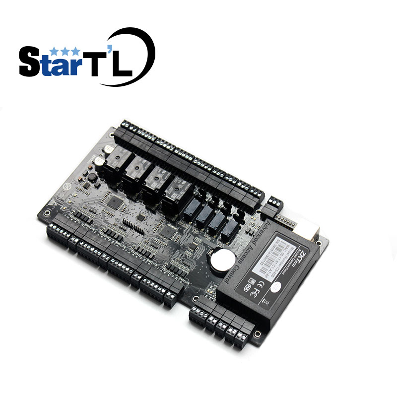 Motivated Tcp/ip 4 Doors Access Control Panel Access Control Board C3-400 Door Access Control System With Wiegand Zk Access Control Board Access Control Keypads