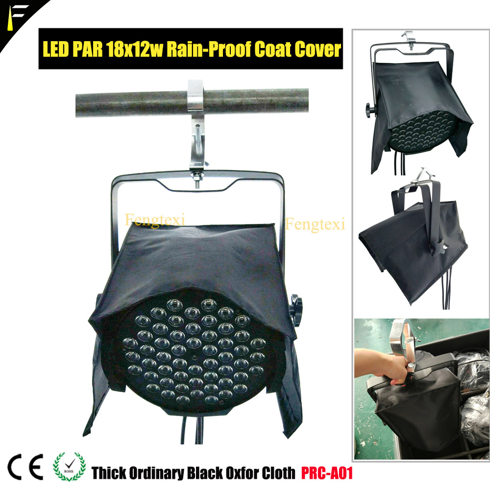 LED COB/18*12w PAR Light Outdoor Waterproof Rain Cover Thicken Coat Overlay LED Moving Head Light Rain Shield For R7 R5 R15 Beam