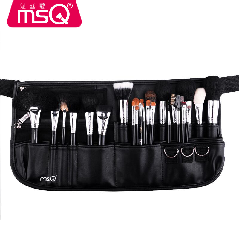 25 Pcs Professional Animal Hair Makeup Brushes Set Powder Foundation Eye shadow Blush Blending Lip Make Up Beauty Cosmetic Tool msq 20pcs set professional eye shadow foundation eyebrow lip brush makeup brushes cosmetic tool blending make up eye brushes set