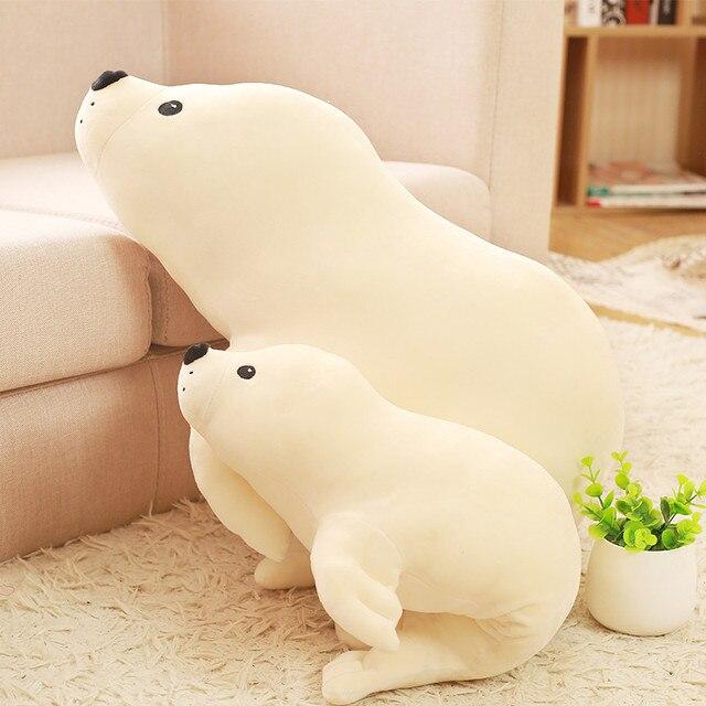 Плюшевые мягкие игрушки кавайные тюлени