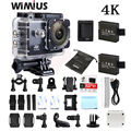 Wimius 4 k wifi sports action camera mini full hd 1080 p 60fps Cam Capacete Camara de Vídeo Ao Ar Livre Ir 40 M Mergulho À Prova D' Água Pro DVR DV