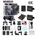 Wimius 4K WiFi Sports Action Camera Mini Full HD 1080P 60fps Cam Video Outdoor Helmet Camara Go 40M Diving Waterproof Pro DVR DV
