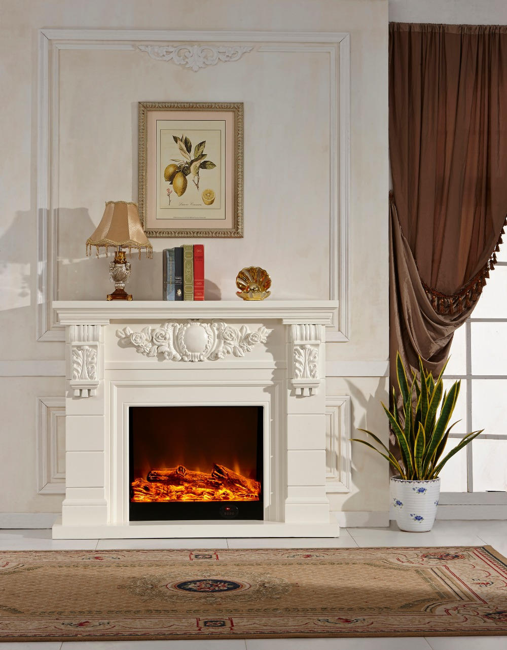 electric fireplace mantle - Popular Electric Fireplace Mantle-Buy Cheap Electric Fireplace