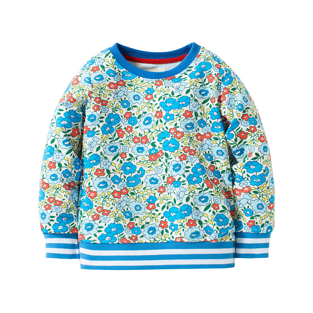 HTB1VESDX4uaVKJjSZFjq6AjmpXaU - Girls High Quality Long Sleeve 100% Cotton Crew Neck Long Sleeve Sweatshirt