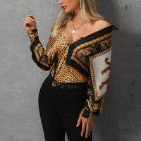 Цветная блузка с леопардовым принтом, женская рубашка с контрастным воротником, элегантная женская рабочая одежда, блузы на пуговицах