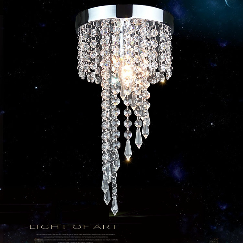 LukLoy K9 Crystal Ceiling Light Aisle Corridor Hotel Lobby Decoration Lights Simple Atmosphere Home Living Room Entrance LampLukLoy K9 Crystal Ceiling Light Aisle Corridor Hotel Lobby Decoration Lights Simple Atmosphere Home Living Room Entrance Lamp