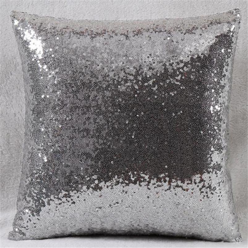 Sequins Throw Covers And Pillows Continental Mermaid Pillow Cushion Covers Square Pillow Cases Home Decor,Aug 1