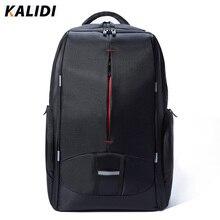 Kalidi 17 zoll wasserdicht männer rucksack usb lade frauen studenten tasche notebook laptop rucksack schultasche für 17,3 zoll