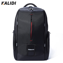 Kalidi 17 pulgadas hombres mujeres estudiantes universitarios mochila de carga usb a prueba de agua bolsa de ordenador portátil mochila escolar mochila portátil de 17.3 pulgadas