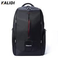 KALIDI 17 Inch Waterproof Men Backpack USB Charging Women College Students Bag Notebook Laptop Backpack School