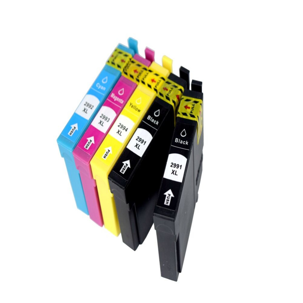 5 pack 2991 compatible ink cartridge for 29XL T2991 T2992 T2993 T2994 for Epson XP332 XP235 XP335 XP432 XP435 Inkjet Printer