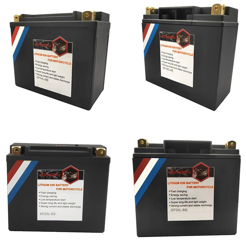 12V LiFePO4 moto batterie 14Ah 20Ah 30Ah CCA 520A 620A 720A Lithium fer moto démarrage batterie BMS protection de tension