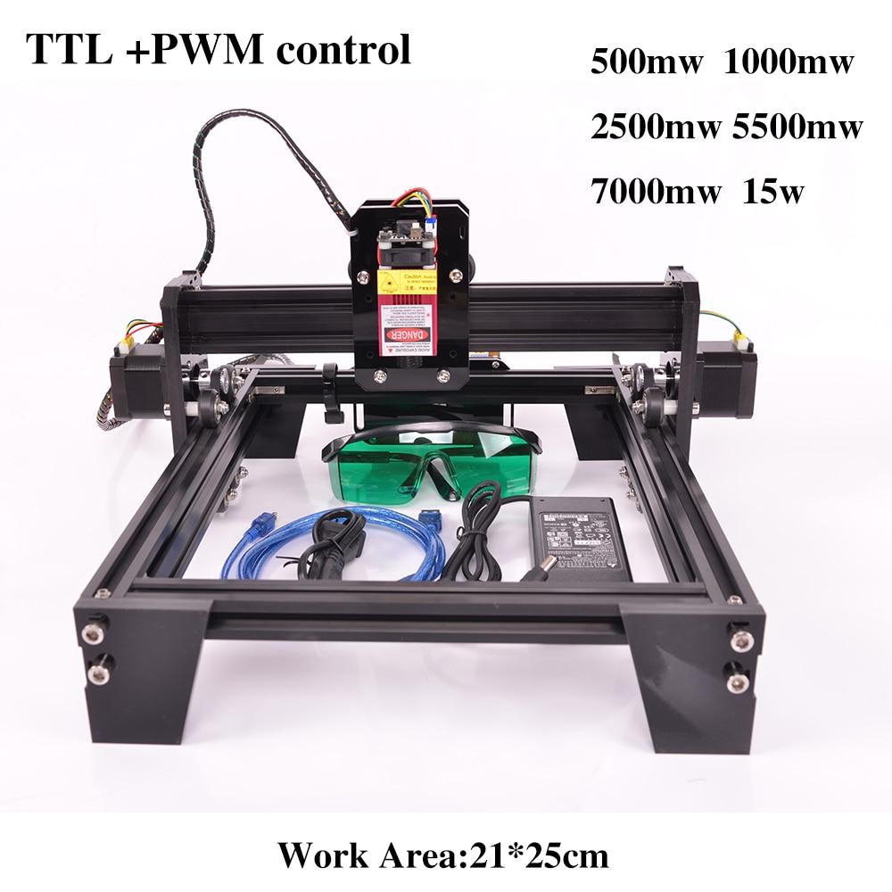 21*25cm GRBL DIY Laser Engraving CNC Machine, Mark Engraver For Metal Scan Marker Machine Tools