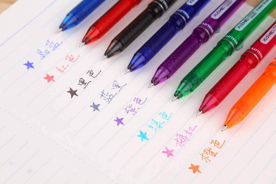 New Xia Mei X - 8802 card temperature control erasable pen eight kinds of colors to choose аксессуары mei xia jewelry 925
