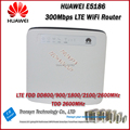 Новое Прибытие в Исходном Разблокирована LTE FDD TDD 300 Мбит HUAWEI E5186 4G LTE CPE Маршрутизатор С RJ11 Порт И Порт LAN