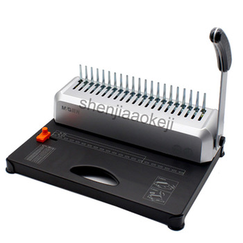 A4 Paper Binding Machine Puncher Binder 21 Holes Binding Machine 12 Sheets Punching and Binding Office Home Tools A4, A5