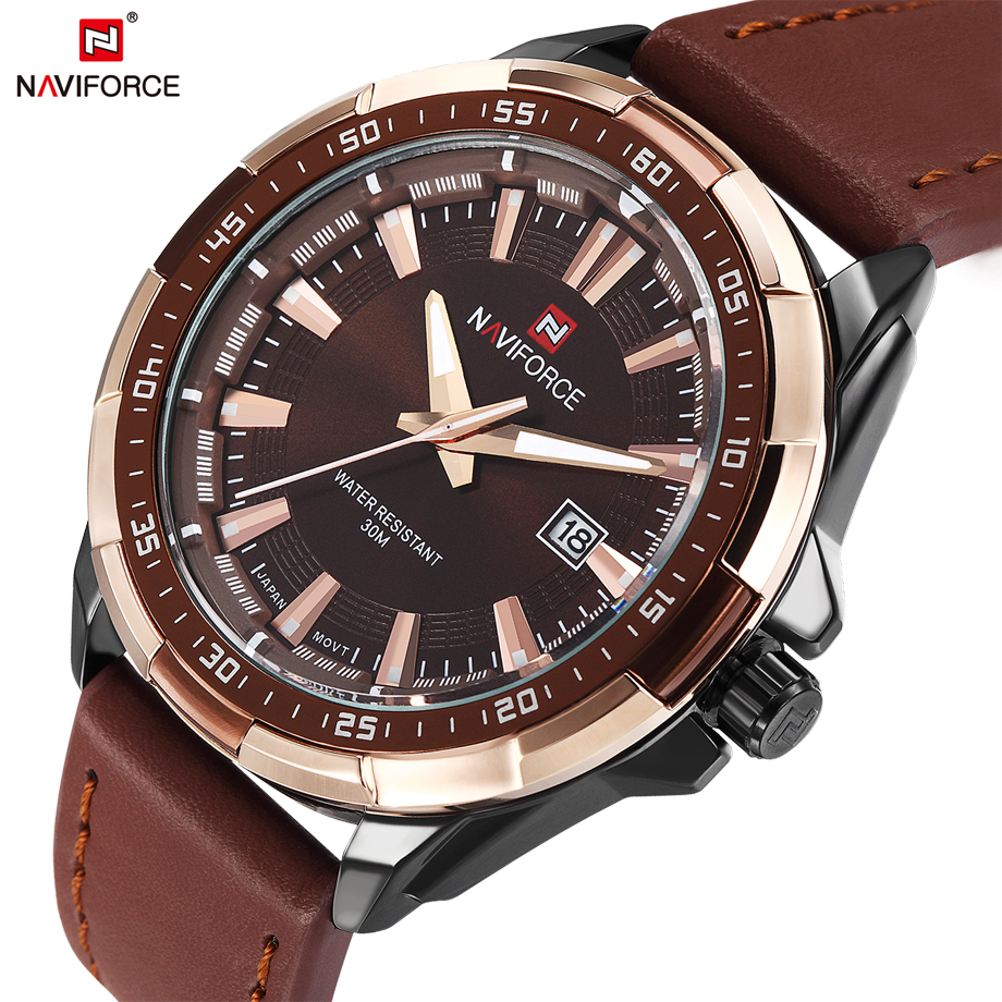 Luxury Top Brand Watches font b Men b font Fashion Quartz Watch Classic Date Genuine Leather