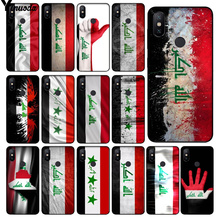 Yinuoda Iraq National Flag DIY Phone Case cover Shell for Xiaomi Mi 6 Mix2 Mix2S Note3 8 8SE Redmi 5 5Plus Note4 4X Note5