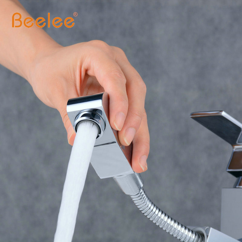 Beelee Free Shipping Big Sale New Basin Pull out Faucet , Bathroom ...